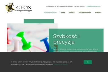 Geox Usługi Geodezyjne Adam Fryc - Geodeta Majdan Królewski