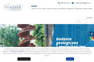 Geoxx s.c. Pracownia geologiczna - Geolog Olsztyn