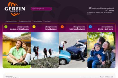 Gerfin Finanse - Ubezpieczalnia Gostyń