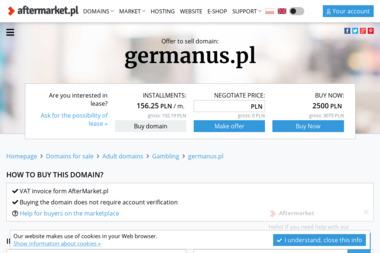 Germanus Nauczanie Języka Niemieckiego Tłumaczenia mgr Maria Płusko - Tłumacze Przecław
