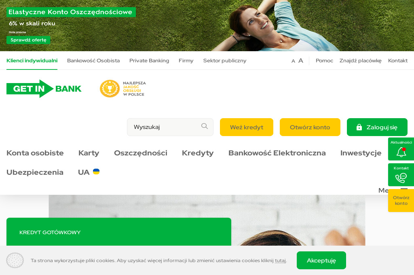 Getin Bank Placówka Franczyzowa - Kredyt Brodnica