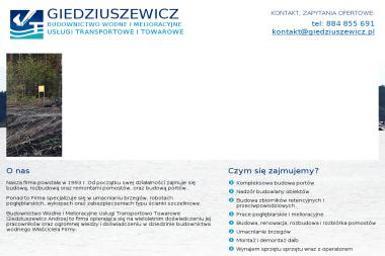 Budownictwo Wodne i Melioracyjne, Usługi Transportowe i Towarowe - Nadzór budowlany Kożuchy Wielkie