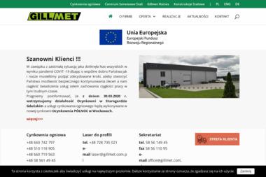 Zakład Usługowo Produkcyjny Gillmet Roman Gilla - Obróbka Metalu Rokocin