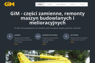 Zakład Remontowo Handlowy Gim - Koparki używane Barczewo