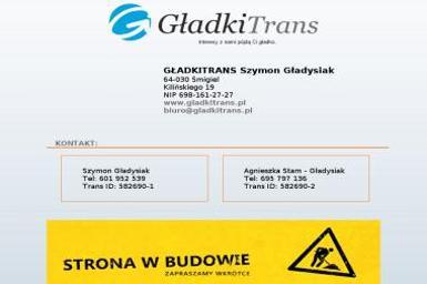 Gładkitrans Szymon Gładysiak - Transport busem Śmigiel