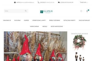 Glamur Projekt - Kwiaciarnia, hurtownia artykułów dekoracyjnych, do domu, ogrodu, na ślub, wesele, - Projektowanie wnętrz Nowy Targ