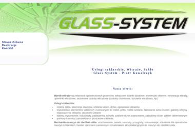 Pracownia Witraży i Szkła Glass System Piotr Kowalczyk - Szklarz Jelcz-Laskowice