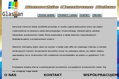 Glassan Sanockie Centrum Szkła - Szklarz Sanok