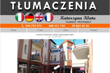 Włodzimierz Klata Agencja Globalkontakt - Tłumacze Lębork