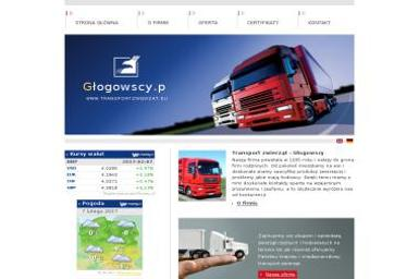 Mobile Pig Tomasz Głogowski - Transport ciężarowy krajowy Kuchary
