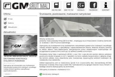 GM Śrut-Mal - Czyszczenie przemysłowe Grabiny-Zameczek
