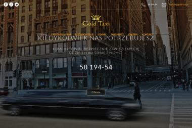 Gold Taxi Emila Modrzewska Michał Bujko S.C. - Przewozy Wiślinka