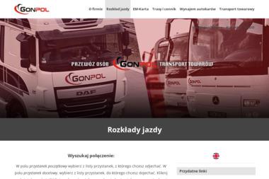 Gonpol Przewozy Autokarowe i Usługi Geodezyjne Szczepan Goncerz - Geodeta Złożeniec