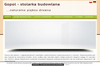 """Z.U.H. """"GOPOL"""" - Okna PCV Lubliniec"""
