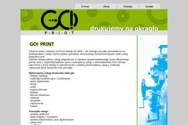 Go! Print Centrum Druku i Reklamy. Druk offsetowy, druk cyfrowy - Ulotki Skawina