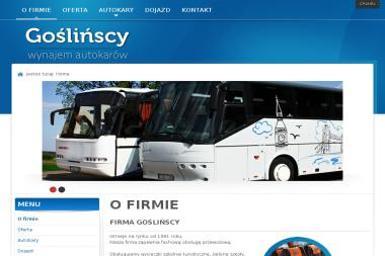 Transport Autobusowy Marek Gośliński - Transport Oborniki