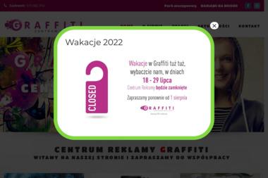 Graffiti Michał Lichacy - Drukowanie Wieluń