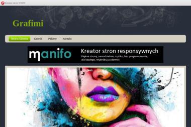 Grafimi Irmina Stańkowska. Kserowanie, drukowanie, skanowanie - Drukarnia Stalowa Wola