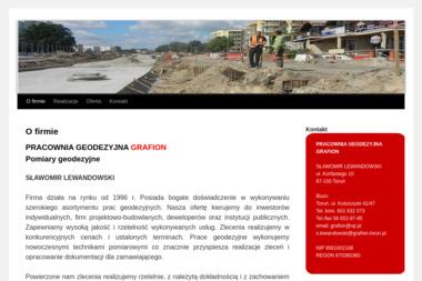 Pracownia Geodezyjna Grafion Lewandowski Sławomir - Ewidencja Gruntów Toruń