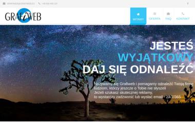 Grafiweb. Tworzenie stron internetowych, strony internetowe, strony www - Pozycjonowanie stron Twardogóra