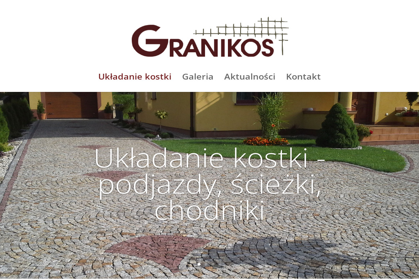 Granikos - Nawierzchnia Granitowa Turek