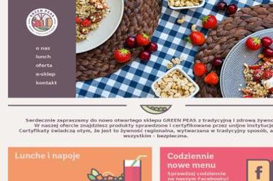 Joanna Zagórska GREEN PEAS - Catering Krapkowice