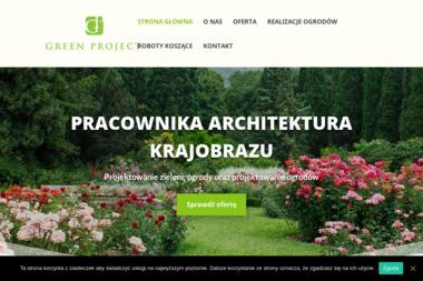 Green Project. Pracownia architektury krajobrazu - Wyposażenie wnętrz Bierzewice