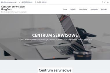 Systemy Komputerowe Gregcom - Strona www Świerklany