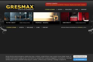 Gresmax Studio Płytek Ceramicznych w Słupsku - Materiały Budowlane Słupsk