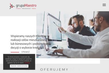 Grupa Maestro Doradcy Finansowi Sp. z o.o. Pośrednictwo kredytowe - Kredyt hipoteczny Gliwice