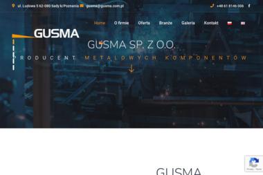 Zakład Produkcyjny Gusma - Konstrukcje stalowe Sady