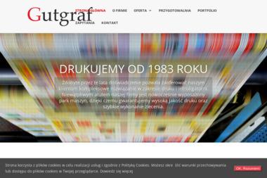 Zakład Poligraficzny Gutgraf Marian Świniarski - Druk katalogów i folderów Gutkowo