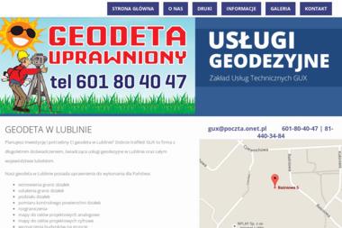 Zakład Usług Technicznych Gux - Geodeta Lublin