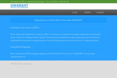 GWARANT Biuro Rachunkowe - Usługi finansowe Ostrzeszów