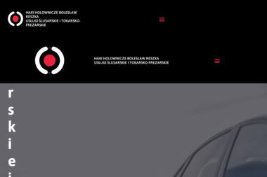 Ślusarstwo Usługowe Bolesław Reszka Haki Holownicze - Obróbka metali Ujazd
