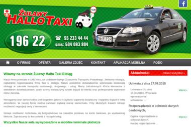 Zrzeszenie Transportu Prywatnego Zulawy Hallo Taxi - Przewóz osób Elbląg
