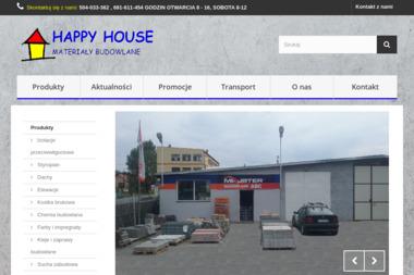 PPHU Happy House s.c. Materiały budowlane, farby - Hurtownia Materiałów Budowlanych Jelenia Góra
