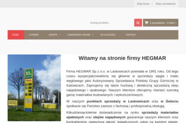 Hegmar Sp. z o.o. - Sprzedaż Węgla Laskowice
