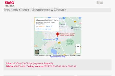 Ergo Hestia Olsztyn - OC na Samochód Olsztyn