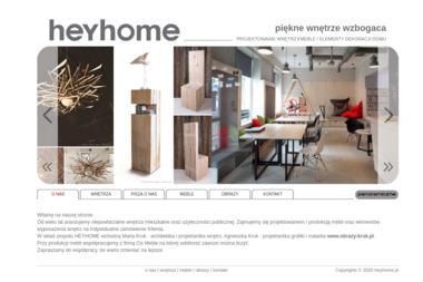 Heyhome.pl - Projektowanie wnętrz - Architekt Białystok