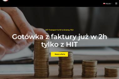 Hit Transport Międzynarodowy i Spedycja Sp. z o.o. Spółka Komandytowa - Firma transportowa Wolsztyn