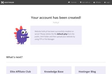 Holik.pl Agencja Interaktywna - Projektowanie Stron Internetowych Brzesko