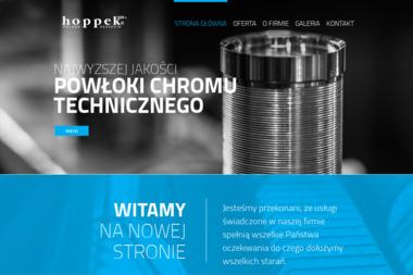 HOPPEK Zakład Galwanizacji i Obróbki Metali Skrawaniem - Tokarz Szczecin
