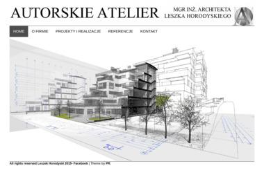 Autorskie Atelier Mgr Inż Architekta Leszka Horodyskiego - Projekty Domów z Poddaszem Gorzów Wielkopolski