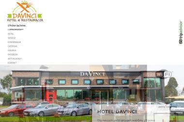 Davinci. Restauracja, Hotel - Gastronomia Czernikowo