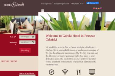 Hotele 'Górski' S.C. Hotel Górski - Usługi Gastronomiczne Pruszcz Gdański