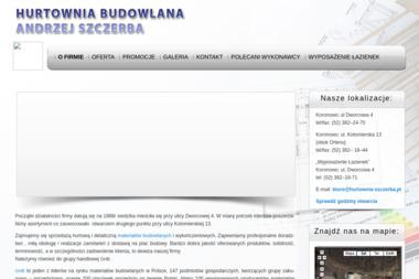 Hurtownia Materiałów Budowlanych Andrzej Szczerba - Skład budowlany Koronowo