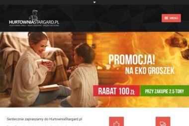 Tommy Sp. j Z.Lutyński M.Szczepanek. Ekogroszek, pellet - Ekogroszek Stargard