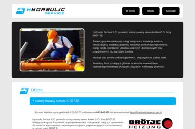 Hydraulic Service S.C. Kowalczyk Gemborys Nowak - Hydraulik Biesiekierz