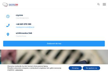 Hydraulik WUKO. Udrażnianie kanalizacji, przepychanie, czyszczenie - Hydraulik Częstochowa